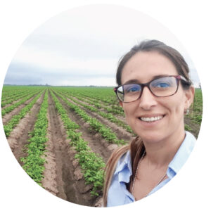 Ing. Agrónoma. Directora Técnica Agroplant SA. Socia Aapresid